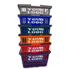 9 Tall Shopping Baskets With Your Logo