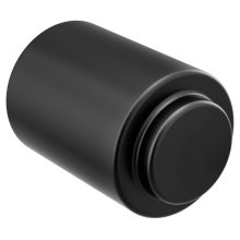 Iso matte black drawer knob