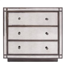 Antiqued Mirrored Cabinet, Small