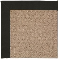 Creative Concepts-Grassy Mtn. Canvas Black Machine Tufted Rugs