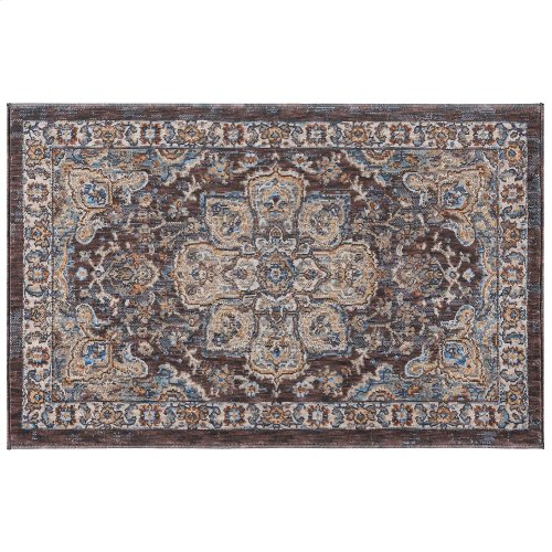 Fairview - FVW3308 Brown Rug