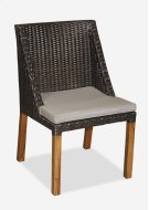 (LS) Swooped Dining Chair-Prussian Dark-Outdoor (21.5x21x35) Product Image