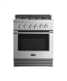 "30"" Gas Range: 4 Burners"