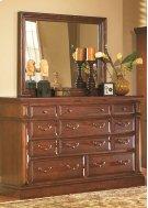 Drawer Dresser - Antique Pine Finish Product Image