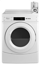 """27"""" Commercial Electric Front-Load Dryer Featuring Factory-Installed Coin Drop with Coin Box Product Image"""