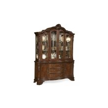 Old World China Cabinet Set