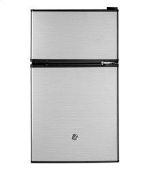 GE Double Door Compact Refrigerator 3.1 cu ft