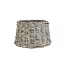 Shade round 25-20-16 cm ROTAN grey