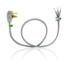 4' 3-Wire 40 amp Power Cord - Other