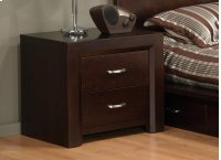 Contempo 2 Drawer Nightstand Product Image