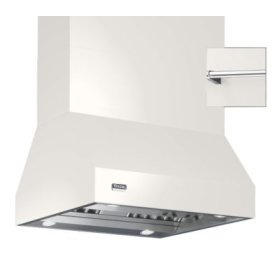 "36"" Wide Island Hood, Chrome Accessory Rail on front, back and both sides"