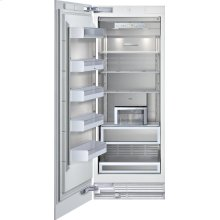"Freezer column 400 series RF 471 700 fully integrated Niche width 30"" (76.2 cm),"