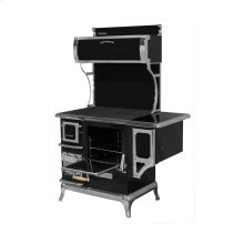 Black Sweetheart Wood Cookstove with Water Reservoir