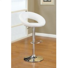 F1554 / Cat.19.p63- ADJUSTABLE BARSTOOL WHT