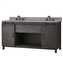 Sonoma Double Vanity with sink and marble top