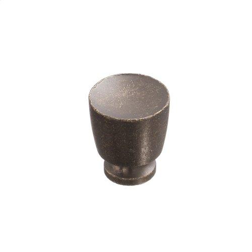 """1"""" Knob - Distressed Oil Rubbed Bronze"""