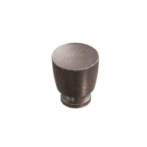 "1"" Knob - Distressed Oil Rubbed Bronze"