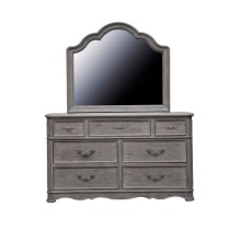 Simply Charming Shaped Landscape Mirror