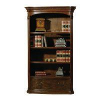 office@home Old World Walnut Bookcase Product Image
