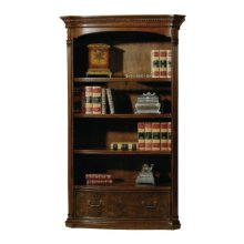 office@home Old World Walnut Bookcase