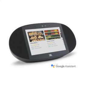 JBL LINK VIEW JBL legendary sound in a Smart Display with the Google Assistant.