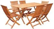 """33""""x63"""" Rectangular Folding Table Product Image"""
