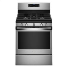 5.0 cu. ft. Freestanding Gas Range with Center Oval Burner (OPEN BOX CLOSE OUT)
