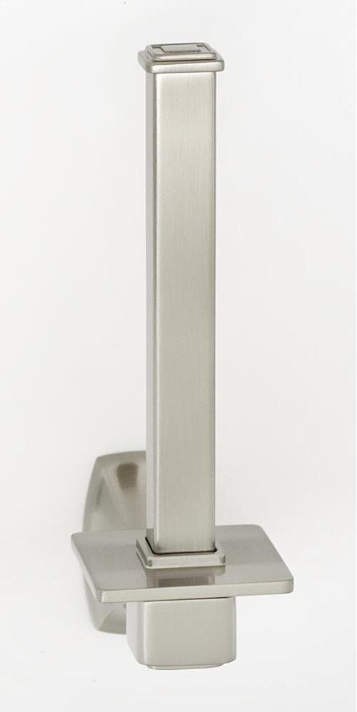 Cube Reserve Tissue Holder A6567 - Satin Nickel