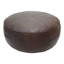 Arthuro Leather Ottoman Coffee