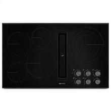 "Jenn-Air® Euro-Style 36"" JX3™ Electric Downdraft Cooktop - Black"