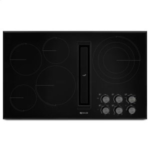 """JennAir® Euro-Style 36"""" JX3 Electric Downdraft Cooktop - Black Product Image"""