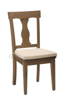 Slater Mill Reclaimed Pine Splat Back Dining Chair