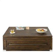 Modern Gatherings Coffee Table Brushed Acacia finish