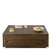 Modern Gatherings Coffee Table Brushed Acacia finish