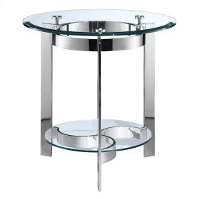 Mercury Round End Table