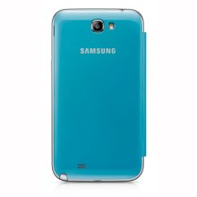 Galaxy Note II Flip Cover, LIGHT BLUE