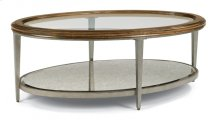 Patina Oval Coffee Table