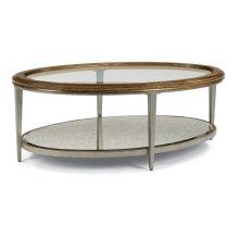Patina Oval Coffee Table