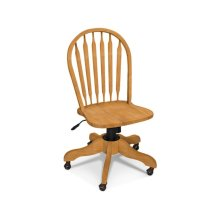 Windsor Arrowback Desk Chair with Gas lift