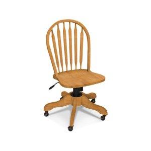 JOHN THOMAS FURNITUREWindsor Arrowback Desk Chair with Gas lift