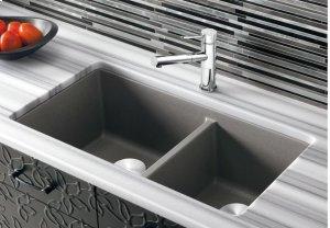 Blanco Precis 1-3/4 Bowl - Metallic Gray