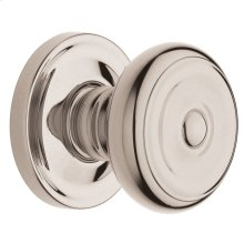 Polished Nickel with Lifetime Finish 5020 Estate Knob