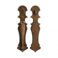 """Gothic Push/Pull Set - 4 3/16"""" x 18"""" Silicon Bronze Brushed"""