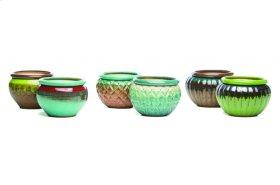 """6"""" Self-Watering Pots ASSORTMENT (6 assorted/carton) - $12.83 ea"""