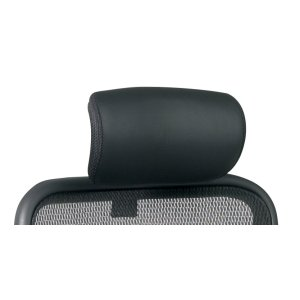 Office StarBlack Leather Headrest