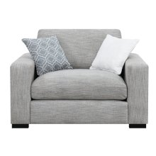 Emerald Home U3286-02-03 Medina Accent Chair, Gray