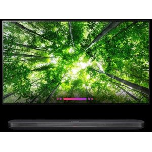 "LG AppliancesLG SIGNATURE OLED TV W8 - 4K HDR Smart TV w/ AI ThinQ(R) - 77"" Class (76.8"" Diag)"