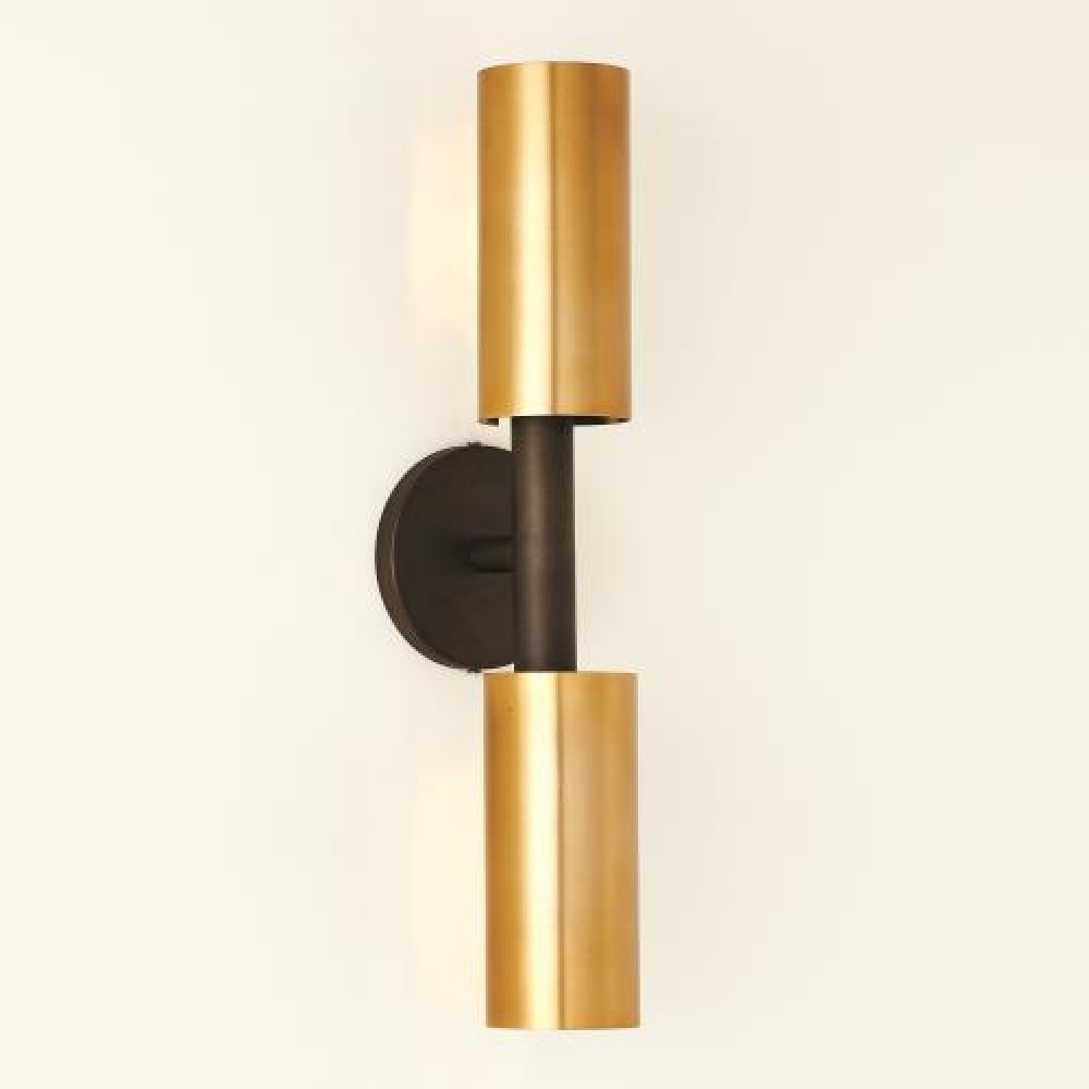 Dumbbell Sconce-Bronze/Brass-HW