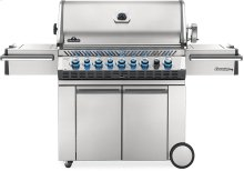 Prestige PRO 665 RSIB Infrared Rear & Side Burners , Stainless Steel , Natural Gas