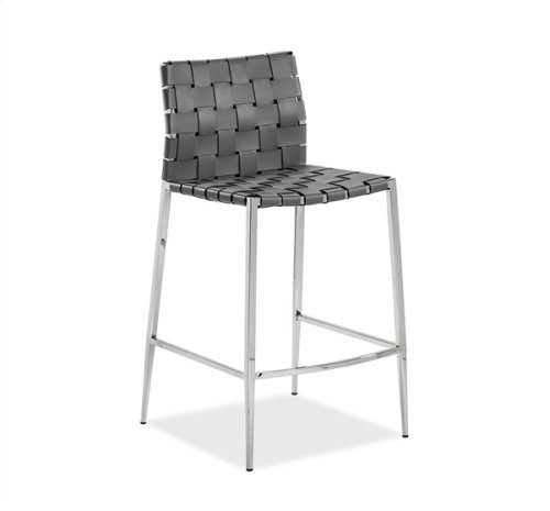 Logan Counter Stool - Grey